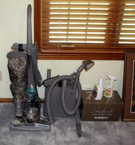 Kirby Sentria Upright Vacuum Model G10D With Attachments And Carpet Shampoo System