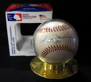 Reggie Jackson (HOF) Autographed Baseball In Holder