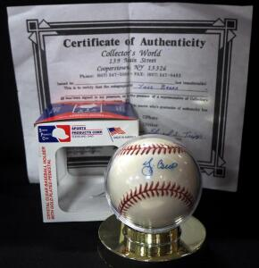 Yogi Berra (HOF) Autographed Baseball With COA, In Holder