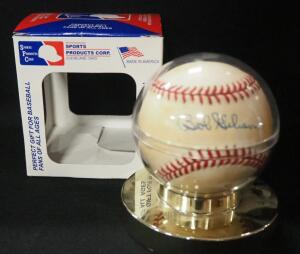 Bob Gibson (HOF) Autographed Baseball, In Holder