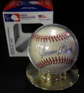Johnny Bench (HOF) Autographed Baseball, In Holder