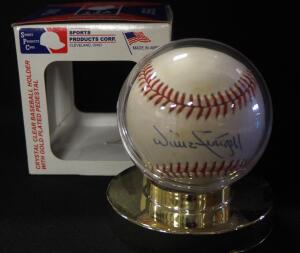 Willie Stargell (HOF) Autographed Baseball, In Holder
