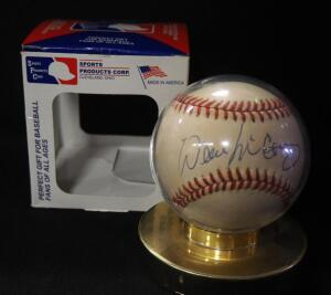 Willie McCovey (HOF) Autographed Baseball, In Holder