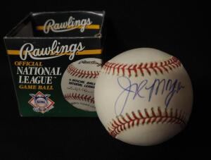 Joe Morgan (HOF) Autographed Baseball