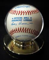 Lou Boudreau (HOF) Autographed Baseball, In Holder - 3