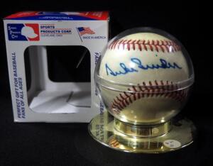 Duke Snider (HOF) Autographed Baseball, In Holder