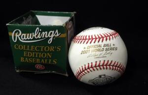 Rawlings 2001 World Series Official Ball
