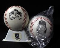 George Brett (HOF) Commemorative Baseballs, Qty 2