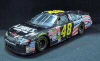 Team Caliber Dark Chrome Action Jimmie Johnson #48 2002 Limited Edition 1:24 Diecast Car With COA, New In Box - 3