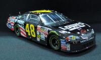 Team Caliber Dark Chrome Action Jimmie Johnson #48 2002 Limited Edition 1:24 Diecast Car With COA, New In Box - 4