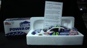 Racing Champions 2002 Jimmie Johnson #48 Lowe's Employee-Owner Exclusive 1:24 Diecast #04778, With COA, New In Box