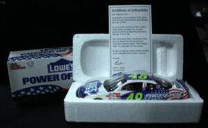 Racing Champions 2002 Jimmie Johnson #48 Lowe's Employee-Owner Exclusive 1:24 Diecast #08059, With COA, New In Box