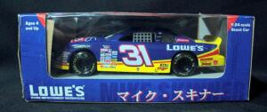 Action Mike Skinner #31 Lowe's 1997 Suzuka Circuit 1:24 Diecast Car, New In Box