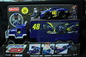 Fisher-Price Shake 'N Go! Jimmie Johnson #48 Lowe's Trailer Rig, New In Box