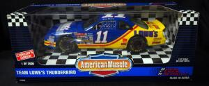 BFR Brett Bodine #11 Lowe's 1:18 Diecast Car, New In Box