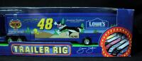 Winner's Circle Jimmie Johnson #48 Lowe's Looney Toons Trailer Rig, New In Box - 3