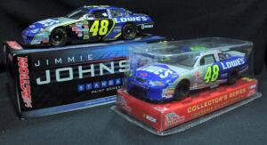 Jimmie Johnson #48 Lowe's 1:24 Diecast Cars, Includes 2003 Preview NIB, And 2006 Monte Carlo NIB