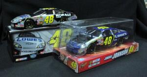 Jimmie Johnson #48 Lowe's 1:24 Diecast Cars, Includes Winner's Circle And MA Kobalt Tools 2007 Monte Carlo, NIB