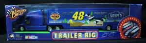 Winner's Circle Jimmie Johnson #48 Lowe's Looney Toons Trailer Rig, New In Box