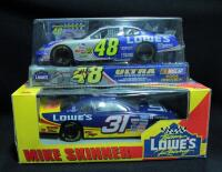 Mike Skinner #31 Lowe's 1:24 Diecast Car And Jimmie Johnson #48 Lowe's 2004 Preview 1:24 Diecast NIB