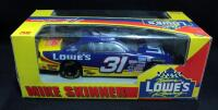 Mike Skinner #31 Lowe's 1:24 Diecast Car And Jimmie Johnson #48 Lowe's 2004 Preview 1:24 Diecast NIB - 2