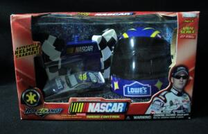 Jakks Jimmie Johnson #48 Lowe's 1:64 Radio Control Car With Helmet Charger, New In Box
