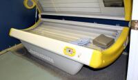 "Sportarredo Holiday 45 Level 3 Tanning Bed With 32 Bulbs, Powers On, Bulbs Replaced In January 2020, 37"" x 82"" x 36"", Bidder Responsible For Proper Removal - 2"