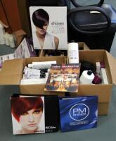 Paul Mitchell XG Shines Semi-Permanent And PM Shines Permanent Hair Color, Pravana ChromaSilk High Lift And Creme Hair Color, Mixing Bowls, Ink Works, Swatch Books, And More