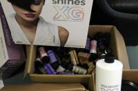 Paul Mitchell XG Shines Semi-Permanent And PM Shines Permanent Hair Color, Pravana ChromaSilk High Lift And Creme Hair Color, Mixing Bowls, Ink Works, Swatch Books, And More - 2