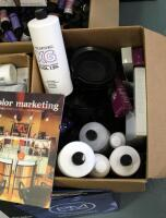 Paul Mitchell XG Shines Semi-Permanent And PM Shines Permanent Hair Color, Pravana ChromaSilk High Lift And Creme Hair Color, Mixing Bowls, Ink Works, Swatch Books, And More - 3