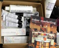 Paul Mitchell XG Shines Semi-Permanent And PM Shines Permanent Hair Color, Pravana ChromaSilk High Lift And Creme Hair Color, Mixing Bowls, Ink Works, Swatch Books, And More - 4