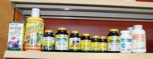 Nature's Plus Vitamin And Supplement Assortment Including Magnesium, DHEA-10, Bromelain, And More, Qty 21