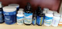 Supplements Including Blood Sugar Balance, Curcumin, Fiber, Oil Of Black Seed, Resvera-Flo, And More, Qty 36 - 5