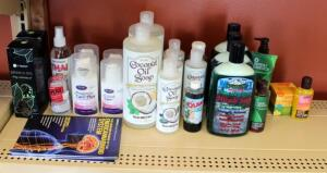 Coconut Oil Soap, Miracle II Soap, Herbal Bath, Thai Crystal Deodorant, Natural Progesterone, Face Wash, And More, Qty 24