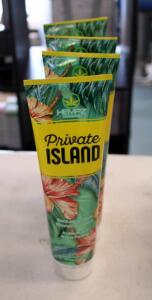 Hempz Private Island Exclusive Dark Bronzing Lotion Qty 4