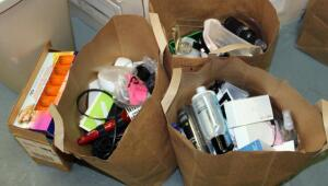 Eyelash Extension Kit, Styling Tools, Sterling Clippers, Kenra Express Color, And More, Contents Of 3 Bags And Box