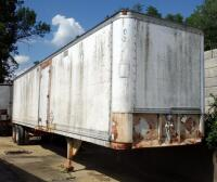 40' Rolling Storage Container Trailer, Contents Included, Buyer Responsible For Proper Removal, LOCATED IN RAYTOWN - 48