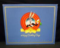Bugs Bunny 50th Birthday Limited Edition Production Cel Collection, Boxed Set Of 5 Hand-Inked, Hand-Painted Animation Cels, With COA, Numbered 37/500 - 10