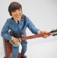 "Musical John Lennon Ceramic Decanter By Gary Schildt, 16"" High, Plays ""I Want To Hold Your Hand"" - 5"