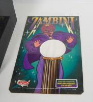 Zambini Palm Reader Fortune Teller Arcade Game By Mr. Vend, Powers On And Works!, SEE VIDEO - 2