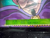 Zambini Palm Reader Fortune Teller Arcade Game By Mr. Vend, Powers On And Works!, SEE VIDEO - 6