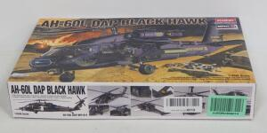 Academy AH-60L Dap Black Hawk Model 1:35 Scale Model Helicopter, With Instructions, Contents Unopened