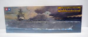 Tamiya US Aircraft Carrier CVN-65 Enterprise 1:350 Scale Model Ship, Sealed Box