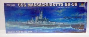 Trumpeter USS Massachusetts BB-59 1:350 Scale Model Ship, Sealed Box