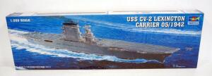 Trumpeter USS CV-2 Lexington Carrier 1:350 Scale Model Ship, Sealed Box