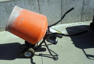 Kushlan Products 3.5CUFT Electric Concrete Mixer, Model 350