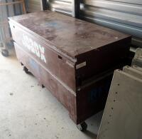 "Cresent JoBox Rolling Steel Security Tool Chest Model 655990, 60"" Long X 24"" - 4"