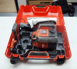 Hilti Rotating Laser Model # PRE3, Including Accessories Instruction Manual And Case