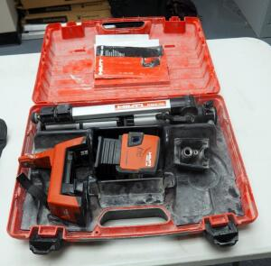 Hilti Combilaser Model # PMC46, Includes Accessories, Instruction Manual and Carrying Case
