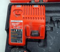 "Milwaukee M18 Cordless 1/2"" Hammer Drill/Driver And Hex Impact Driver, Includes Battery Charger, Batteries And Carrying Case - 5"